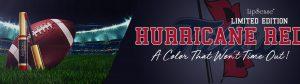 Hurricane Red – Limited Edition LipSense Collegiate Colors